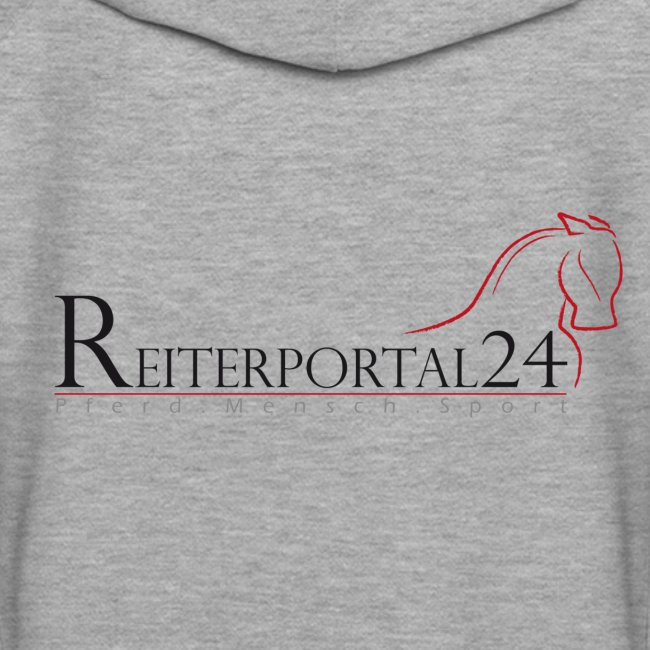 Reiterportal24 Frauen Kapuzenpullover grau