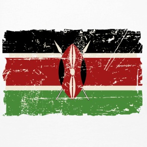 Kenya Vintage Flag Long Sleeve Shirts - Women's Premium Longsleeve Shirt
