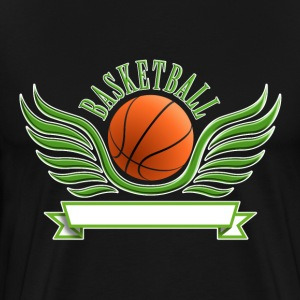 basketball_wings_052015_a T-Shirts - Männer Premium T-Shirt