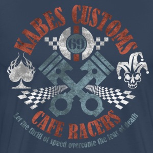 Kabes Cafe Racers T-Shirt - Men's Premium T-Shirt