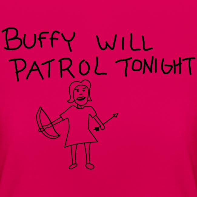 T-shirt Femme (woman) Buffy's patrol