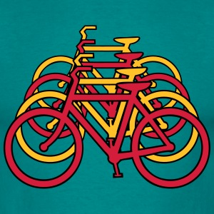 Bicycle art T-Shirts - Men's T-Shirt
