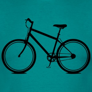 Bicycle style T-Shirts - Men's T-Shirt