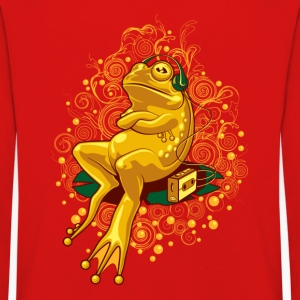 FROGGIE ON RELAX MODE - Kids' Premium Longsleeve Shirt