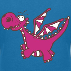 Mighty Dragon T-Shirts - Women's V-Neck T-Shirt