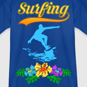 Surfing Tropical team Tee shirts - T-shirt Ado
