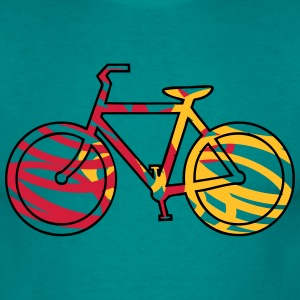 cykel model T-shirts - Herre-T-shirt
