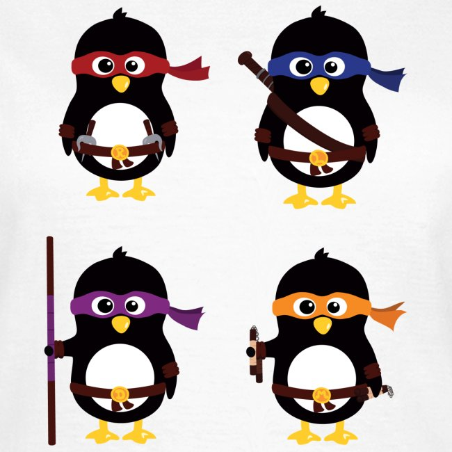 Pingouins Ninja