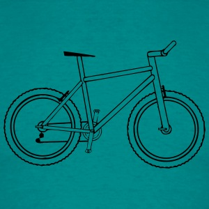 Fiets-mountainbike T-shirts - Mannen T-shirt