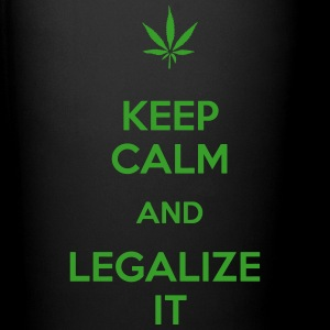 Keep calm and legalize it - Tasse einfarbig