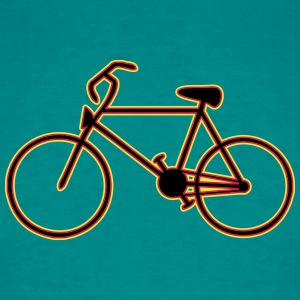 Cykel kunst T-shirts - Herre-T-shirt