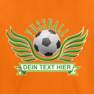 fussball_wings_052015_c T-Shirts - Teenager Premium T-Shirt