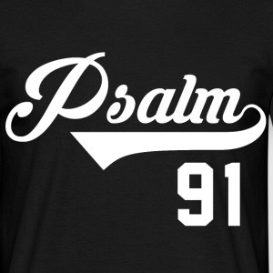 Psalm 91 - bible verse  T-Shirts - Men's T-Shirt