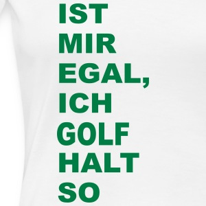 golf T-Shirts - Frauen Premium T-Shirt