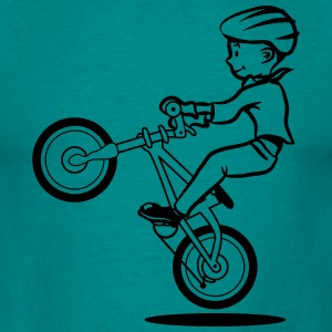 bike biker child T-Shirts - Men's T-Shirt