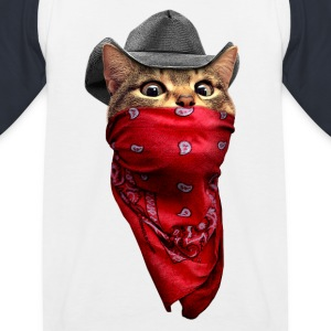 CAT ROBBER - Kids' Baseball T-Shirt