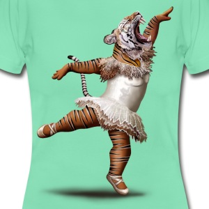 Dunkle Minze KILLER DANCE MOVE T-Shirts - Frauen T-Shirt