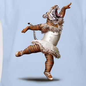 KILLER DANCE MOVE - Organic Short-sleeved Baby Bodysuit