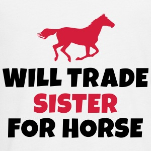 Will trade Sister for horse Manches longues - T-shirt manches longues Premium Ado