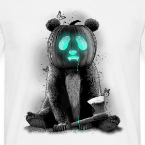 Wit PANDALOWEEN T-shirts - Mannen T-shirt