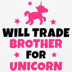 Will trade brother for unicorn Manches longues - T-shirt manches longues Premium Enfant