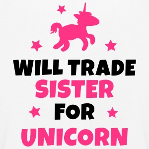 Will trade sister for unicorn Manches longues - T-shirt manches longues Premium Enfant