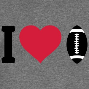 I love football Sweat-shirts - Pull Femme col bateau de Bella