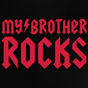 My brother rocks Tee shirts - T-shirt Bébé