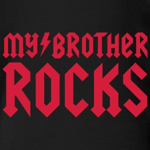 My brother rocks Tee shirts - Body bébé bio manches courtes