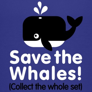 Save the whales (Collect the whole set) Tee shirts - T-shirt Premium Ado