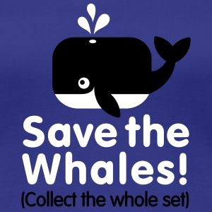 Save the whales (Collect the whole set) Tee shirts - T-shirt Premium Femme