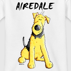 Witziger Airedale Terrier T-Shirts - Teenager T-Shirt