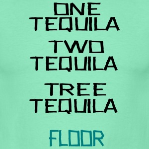 one two tree Tequila - Männer T-Shirt