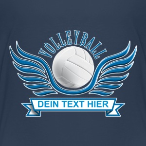 volleyball_wings_052015_b T-Shirts - Teenager Premium T-Shirt