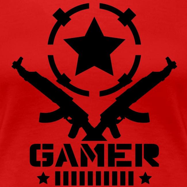 Womens AK Gamer T-Shirt
