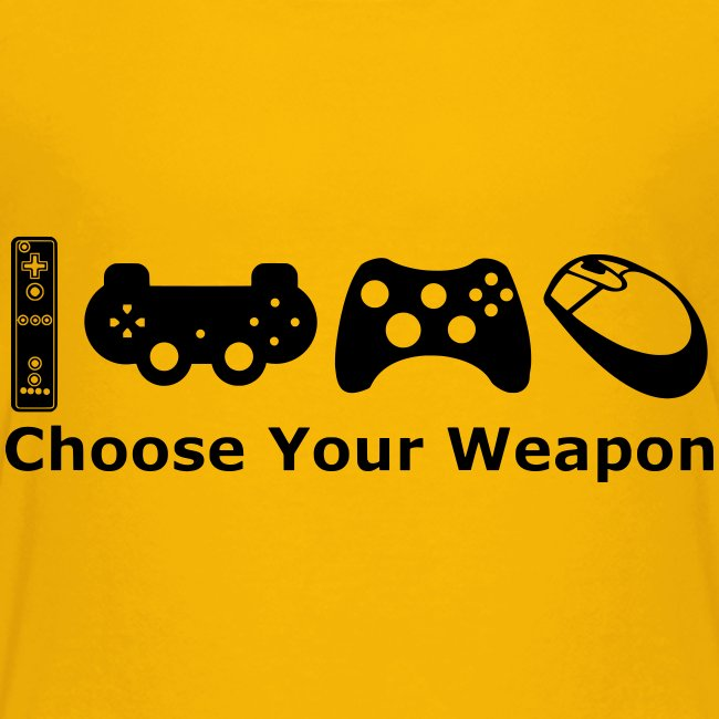 Teenagers Choose Weapon T-Shirt