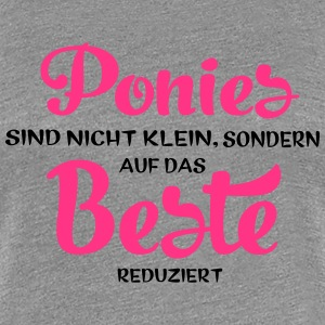 Pony T-Shirts - Frauen Premium T-Shirt