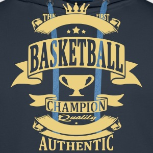 Basketball Sweat-shirts - Sweat-shirt à capuche Premium pour hommes
