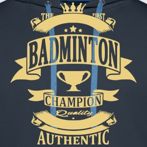 Badminton Sweat-shirts - Sweat-shirt à capuche Premium pour hommes
