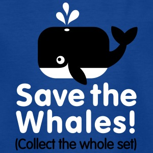 Save the whales (Collect the whole set) Shirts - Kinderen T-shirt