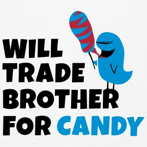 Will trade brother for candy seront négociées frère pour candy Manches longues - T-shirt manches longues Premium Enfant