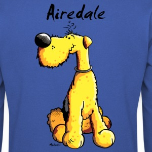 Mignon Airedale Terrier Sweat-shirts - Sweat-shirt Homme