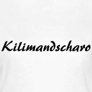 Kilimandscharo T-Shirts - Frauen T-Shirt