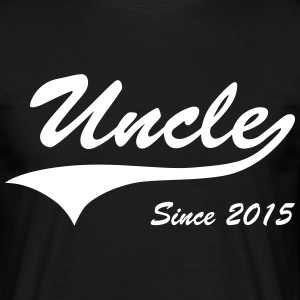 Uncle Since 2015 T-Shirts - Men's T-Shirt
