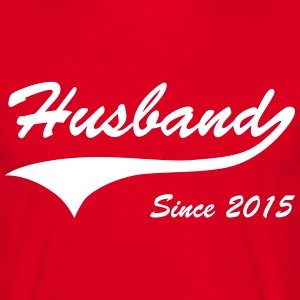 Husband Since 2015 T-Shirts - Men's T-Shirt