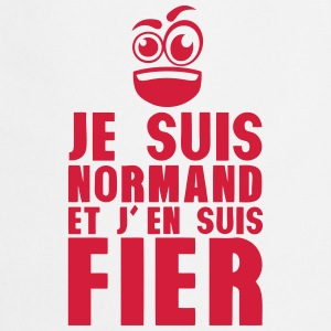 je suis normand fier smiley Tabliers - Tablier de cuisine