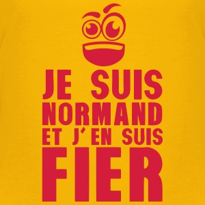je suis normand fier smiley Tee shirts - T-shirt Premium Ado