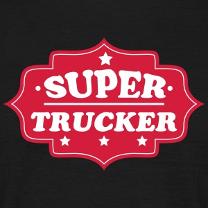 Super trucker 111 T-shirts - Mannen T-shirt