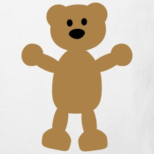 teddy bear Shirts - Kids' Organic T-shirt