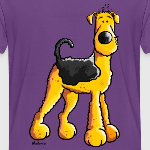 Süßer Airedale Terrier T-Shirts - Teenager Premium T-Shirt